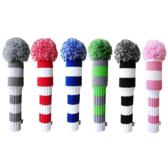 China 2020 Hot Selling Acrylic Knitted Pattern Golf Club Head Cover China Golf Putter Headcover And Golf Headcovers Price