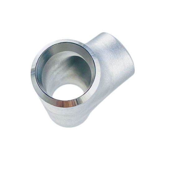 Sch10 Sch20 Industrial Steel Pipe Fittings Rolling Sand B16.9 Equal Tee