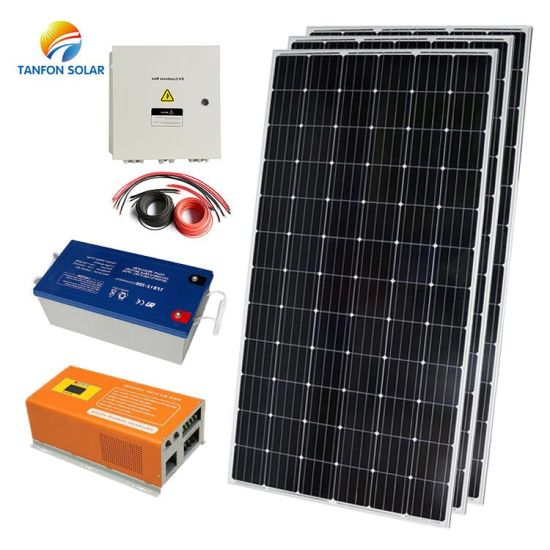 Power Inverters 1kw 2kw 3kw 5kw off Grid Solar System 10kw Solar Energy Generator pictures & photos