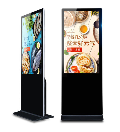 "43"" Inch Factory Supply Stand LCD Display Panel Advertising Player"