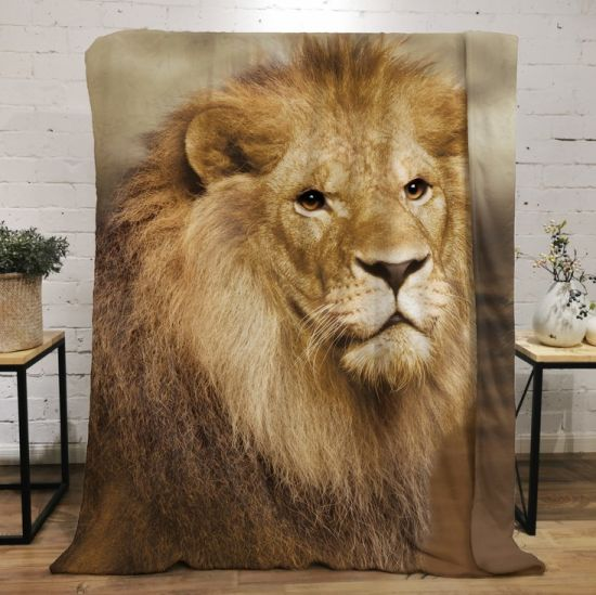 The Lion King 3D Printing Fleece Throw Blanket for Couch Sofa or Bed Throw Size Super Cozy and Comfy for All Seasons