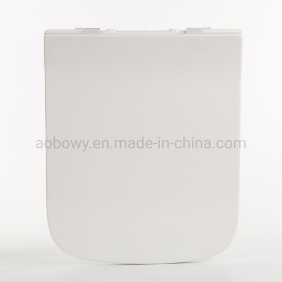 Au305/Slow-Close Quick Realse Toilet Seat/Plastic Toilet Seat/UF Toilet Seat/Ultrathin Toilet Seat