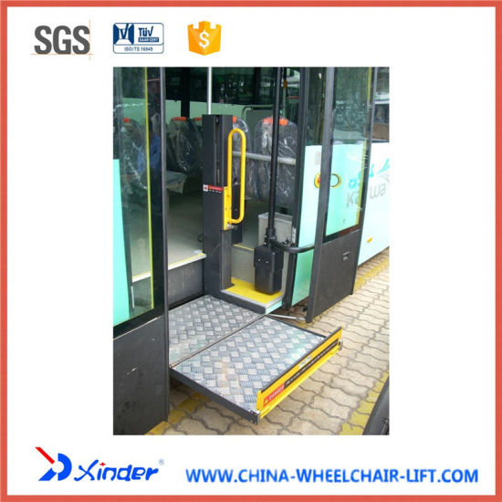 CE Electrical & Hydraulic Wheelchair Lift (WL-STEP-800) pictures & photos