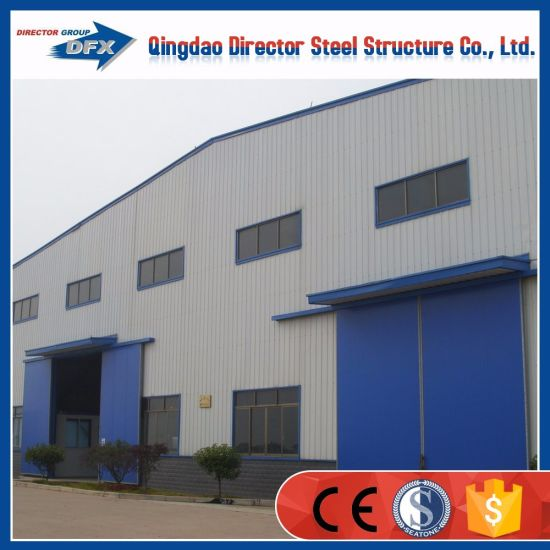 Insulated Prefabricated Storage Sheds Steel Industrial Shed Construction