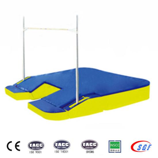 china high grade foam gymnastics pole vault mat for competition
