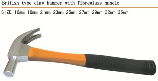 Hammer British Type Claw Hammer with High Quality pictures & photos