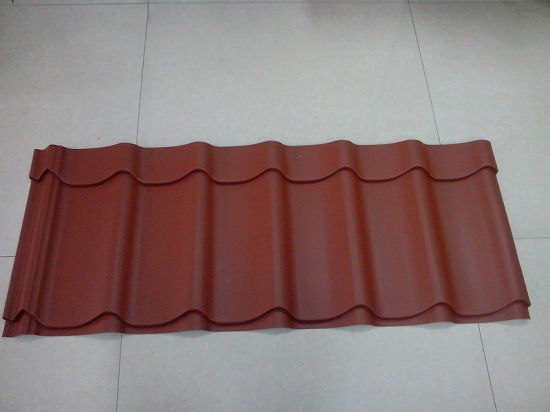 Popular Profiled Corrugated Tile/Hojas De Techo/Colorful Corrugated Iron Roofing pictures & photos