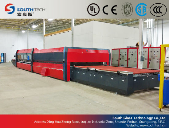Southtech Passing Flat Glass Tempering Furnace with Forced Convection System (TPG-A series) pictures & photos