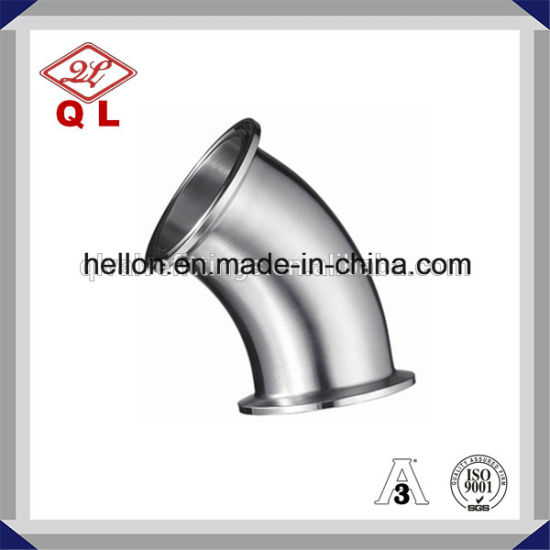 Sanitary Stainless Steel 45deg Elbow pictures & photos