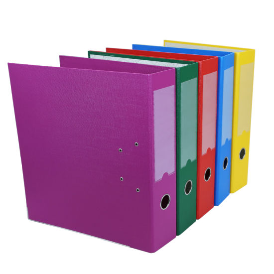 Hot Sale Office Supplies PVC Lever Arch File Folder pictures & photos