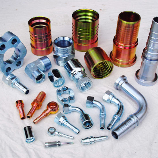 Rubber Hose Hydraulic Pipe Fittings Aj Adaptors pictures & photos