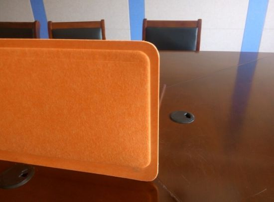 3D Desk Screen, Office Partition, Hot-Pressed Office Screen pictures & photos