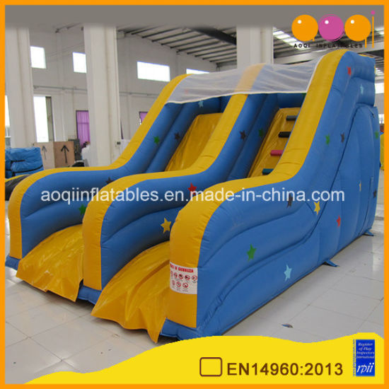 Most Popular Backyard Inflatable Mini Slide for Kids (AQ1222) pictures & photos