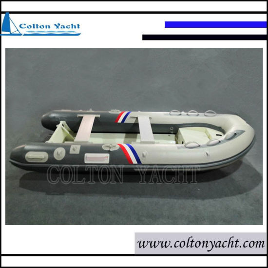 360cm Rigid Inflatable Boat with Aluminum Hull for Fishing