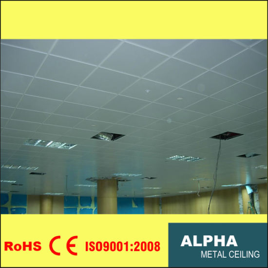 Attractive Aluminum False Decorative Exposed Indoor Lay In Suspended Ceiling