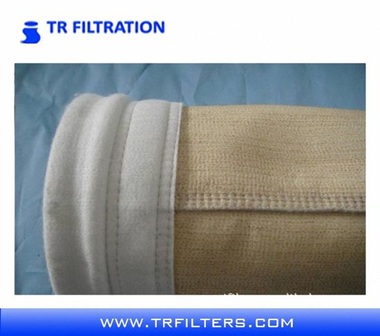 Nonwoven Needle Felt PPS / Nomex Dust Filter Bags