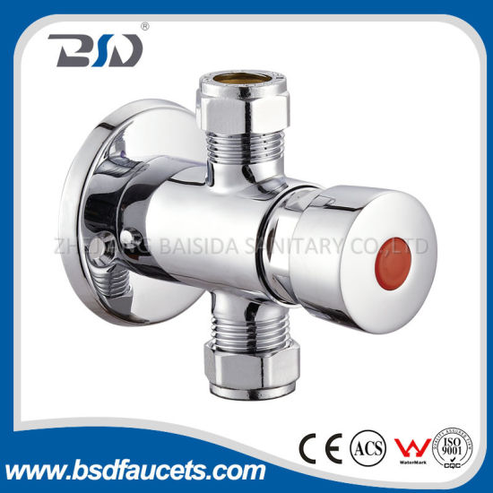 China Preset Automatic Shut Off Exposed Shower Valve Self