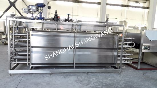 3t/H Tubular Uht Sterilizer for Dairy pictures & photos