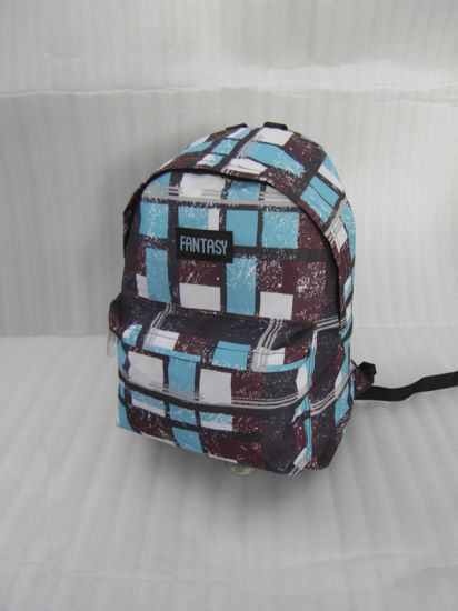 PU Red Travel Sports School Bags Computer Backpack pictures & photos
