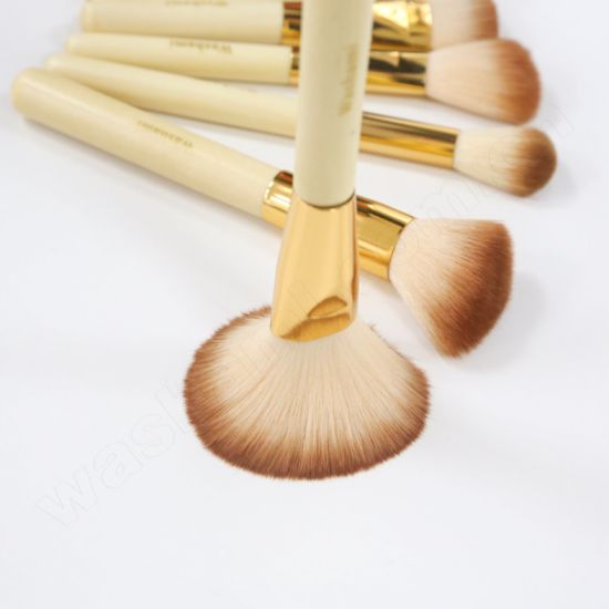 Washami Top Quality Makeup Brush Kit 10PCS Cosmetic Brush Set pictures & photos