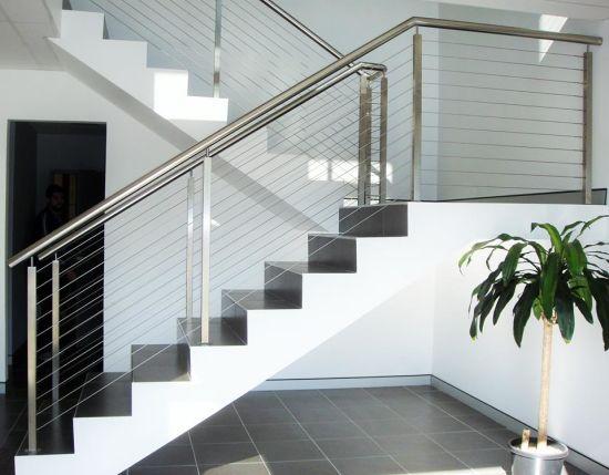 Stainless Steel Deck Balustrade / Stair Railing / Fencing / Handrail