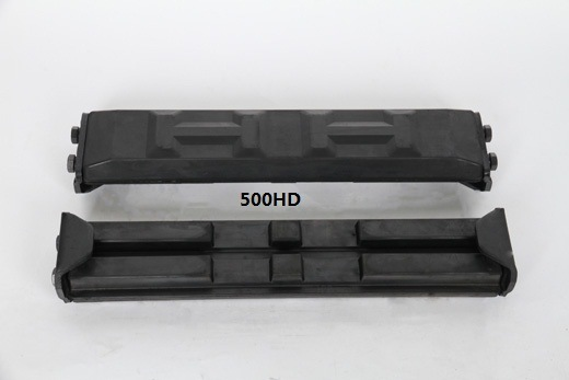 Puyi Rubber Track Pad 450hb/500HD Excavator pictures & photos