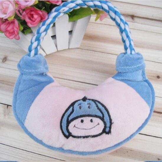 Pet Plush Toy Handbag Style Dog Toy (KB0024) pictures & photos