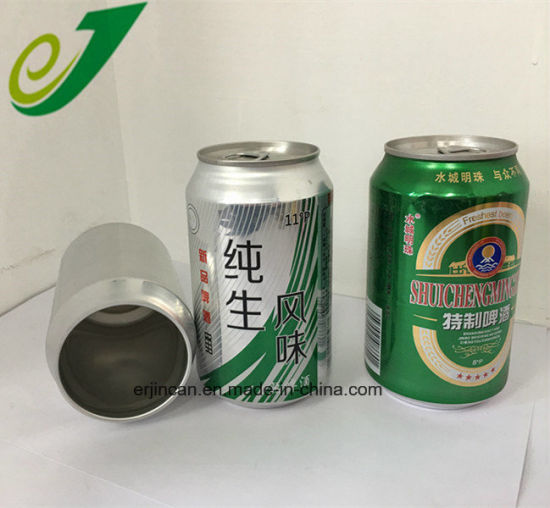 250ml 330ml Blank Slim Sleek Beverage Aluminum Beer Empty Cans for Sale pictures & photos