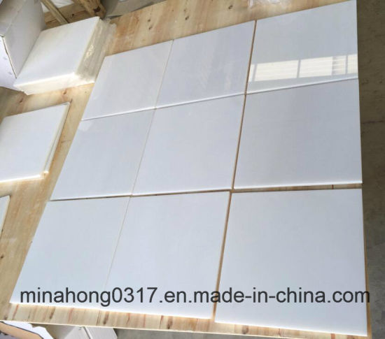 Pure White Marble Tiles Slabs For Flooring Wall Cladding