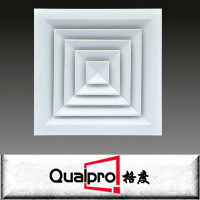 4-way square air diffuser/high ceiling diffuser AR6120