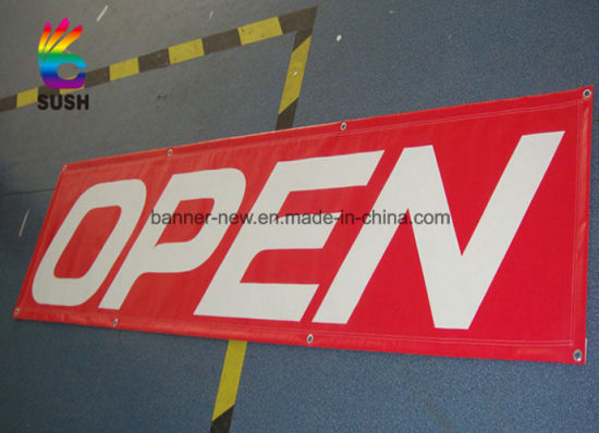 Outdoor Customized Printing Advertising Vinyl PVC Banner (SS-VB11) pictures & photos