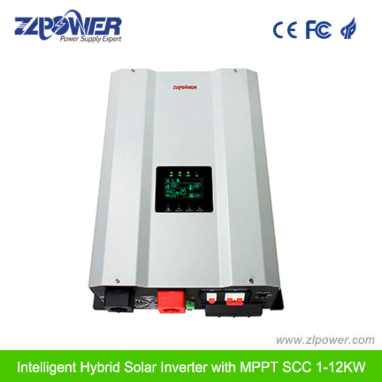 DC to AC Hybrid Solar Power Inverter 24V 4000W 6000W pictures & photos