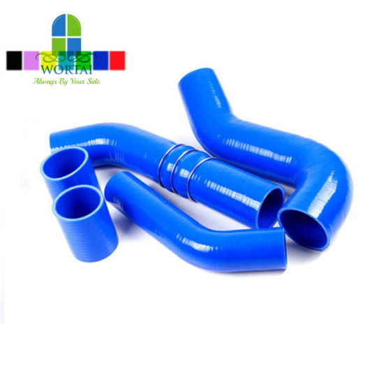 Heat Resistance Automotive Silicone Reinforced Hose Rubber Tube pictures & photos