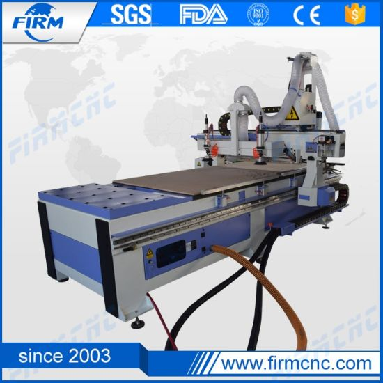 Auto Tool Changer 1325 Woodworking Atc CNC Router Machine