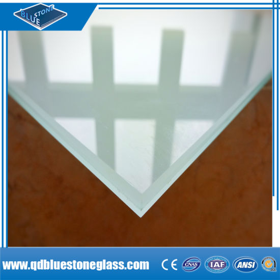 3mm+0.38 PVB+3mm Laminated Glass with Ce Certification