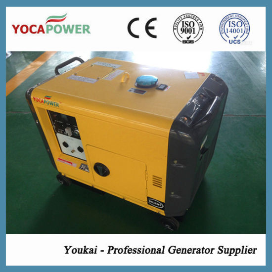 5kVA Silent Diesel Generator Powered by 186fae Engine pictures & photos