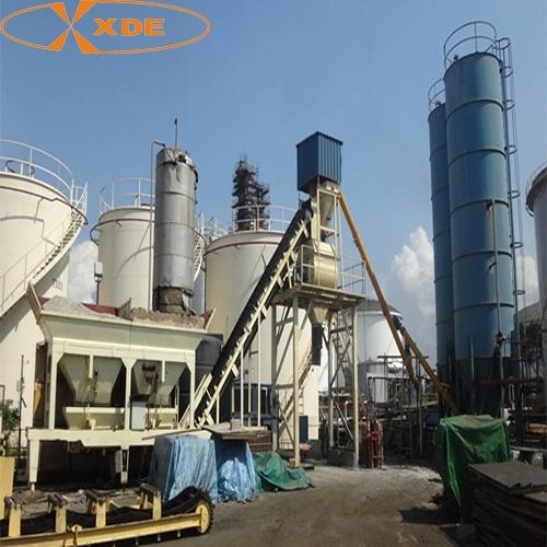 Yhzs35m3/H Mobile Concrete Batching Plant for Road Construction