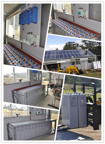 Opzv Battery 2V1000ah Sealed Lead Acid Battery Solar Battery pictures & photos