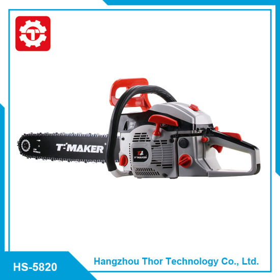 5820 58cc Professional Factory Supply Gasoline Chain Saw with Parts pictures & photos