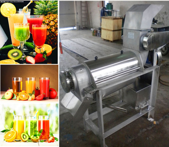 Grape Juice Making Machine Grape Stem Removing Machine Grape Crusher pictures & photos