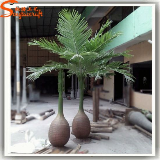 Evergreen Home Decor Fake Artificial Bottle Palm Tree Pictures Photos