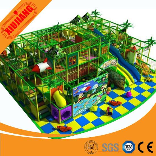 Kids Theme Park, Children Playground Indoor Design (XJ1001-5342)