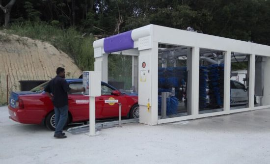 Tunnel Automatic Car Washing System for Saudi Carwash Business pictures & photos