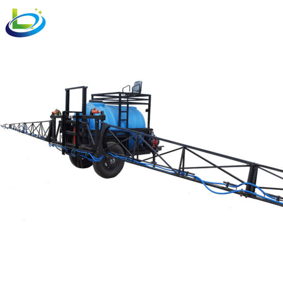 Agricultural Tank Wheel Paddy Tractor Mounted Boom Sprayer Equipment