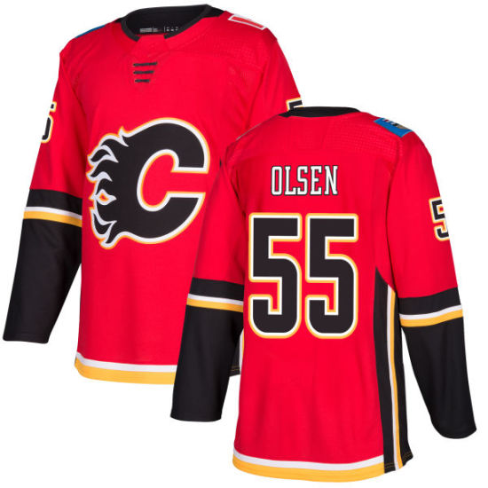 official photos b271c a9334 China Calgary Flames Dylan Olsen Jon Gillies Tyler ...