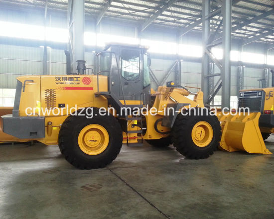 China Zf Gearbox Equipped, 5 Ton Front Wheel Loader - China