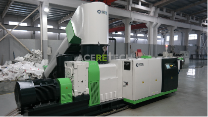 High Efficiency Acs1400/180 Agglomerating and Pelletizing Machine for PP/PE/EPE/EPS pictures & photos