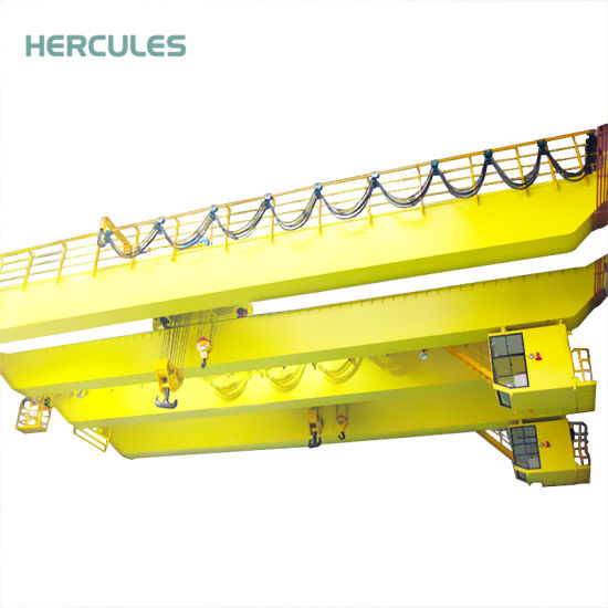 Construction Building Universal Remote Controls 10 Ton Double Girder Crane pictures & photos