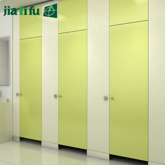 Economical Solid Phenolic Panel Toilet Partition for Sale pictures & photos