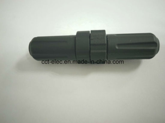 M22 6 P F Head 180 Degrees F Type Head Straight Connector pictures & photos